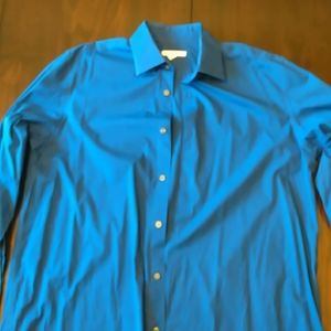 Merona Men's Button Up Shirt  Size Large Sleeve